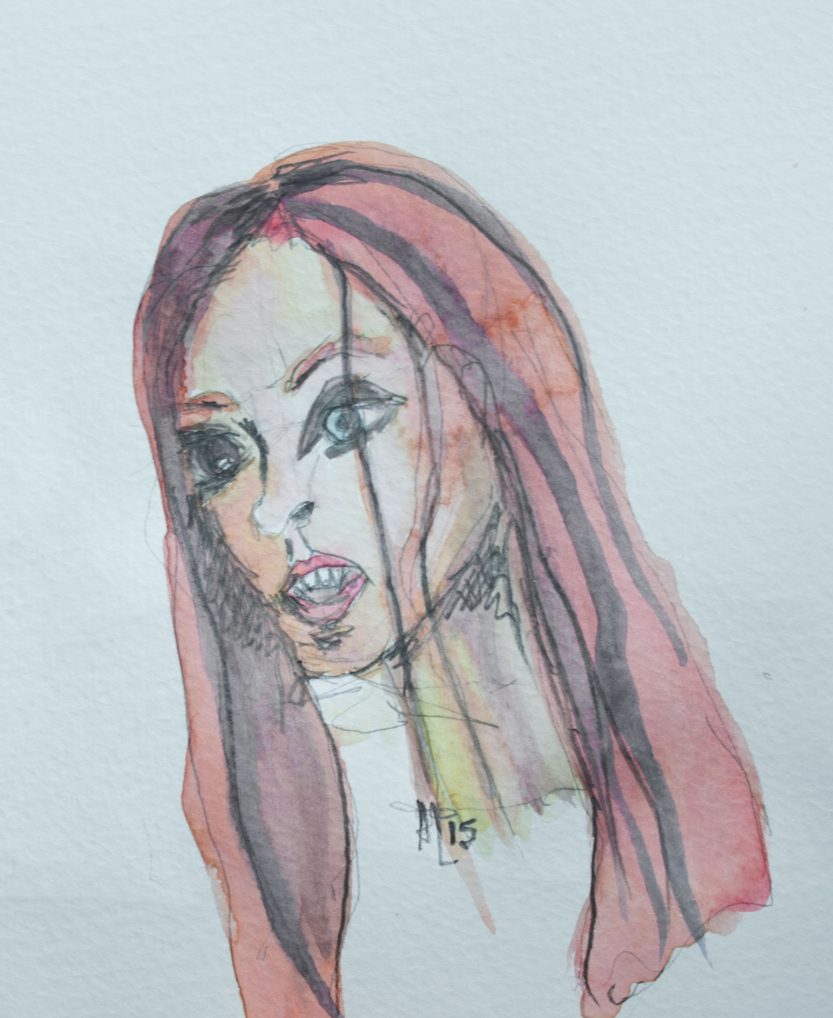Ginger Snaps Watercolor Illustration