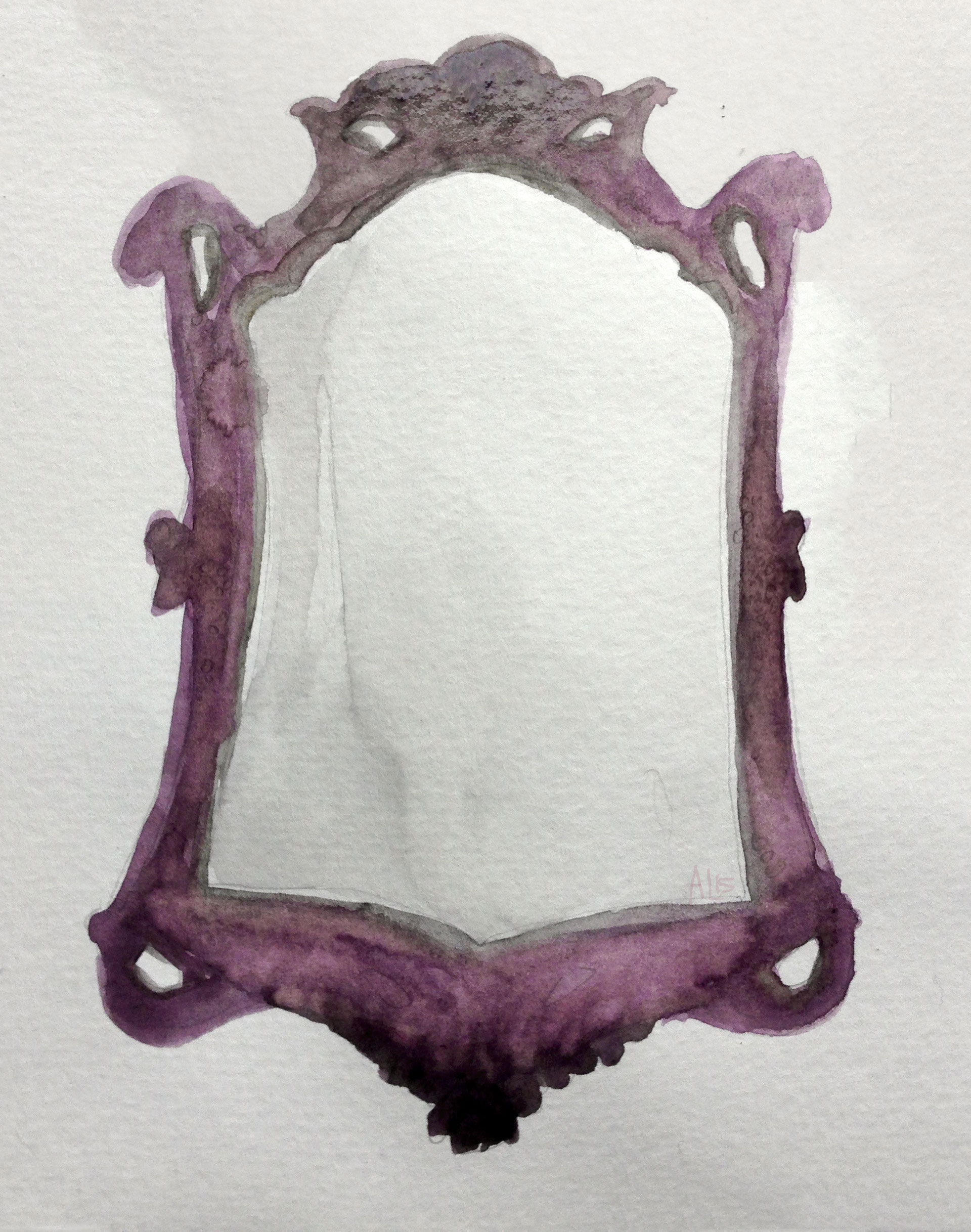 Oculus Mirror Watercolor