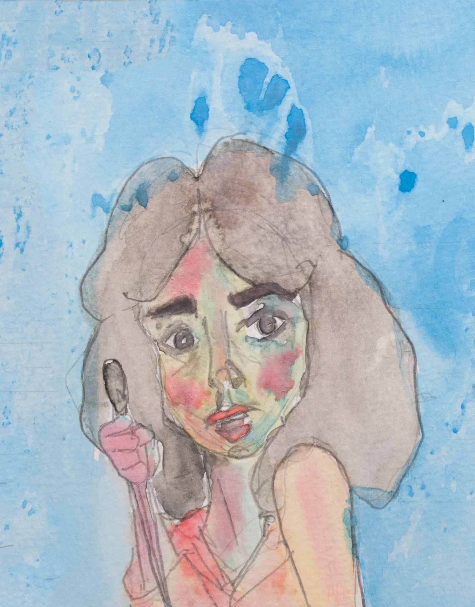 Susie Banyon Suspiria Watercolor Illustration