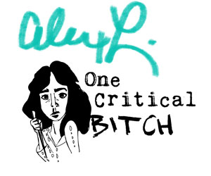 Alex of One Critical Bitch | onecriticalbitch.com