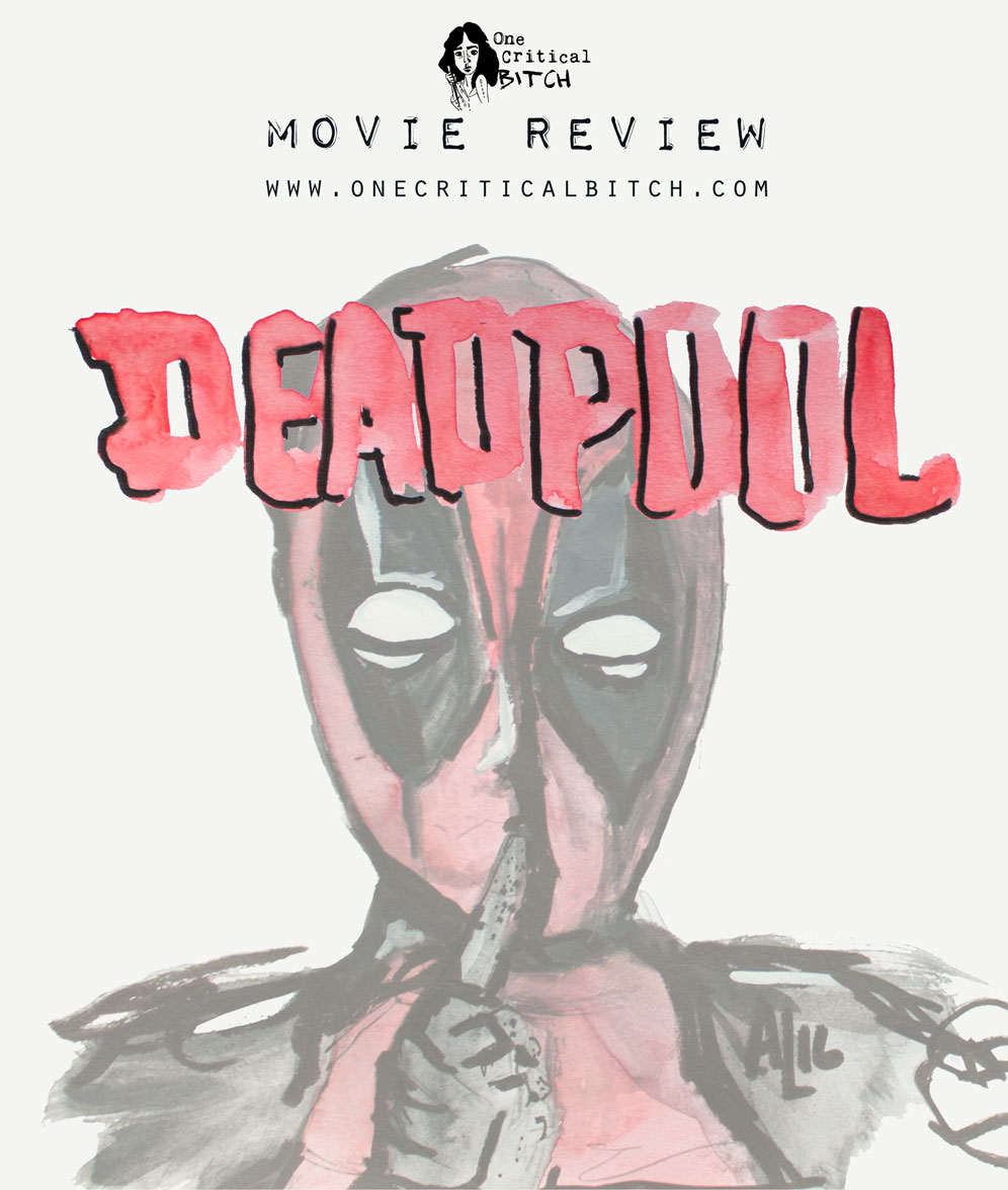 Deadpool has one or two secrets - not least of which is his incredible vanity|Read the full review of Marvel's anti-superhero movie at onecriticalbitch.com | #chickflickfebruary
