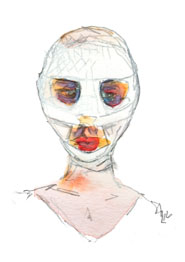 "Mother in ""Goodnight Mommy"" 