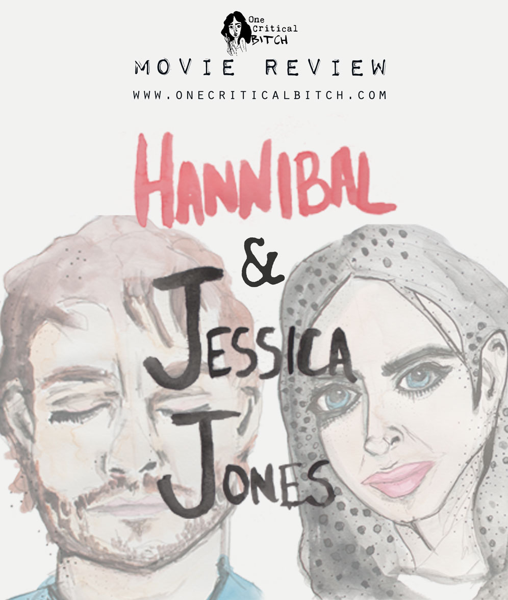 Looking at male and female friendships in television's gutsiest shows|Read the full review on Hannibal and Jessica Jones at onecriticalbitch.com