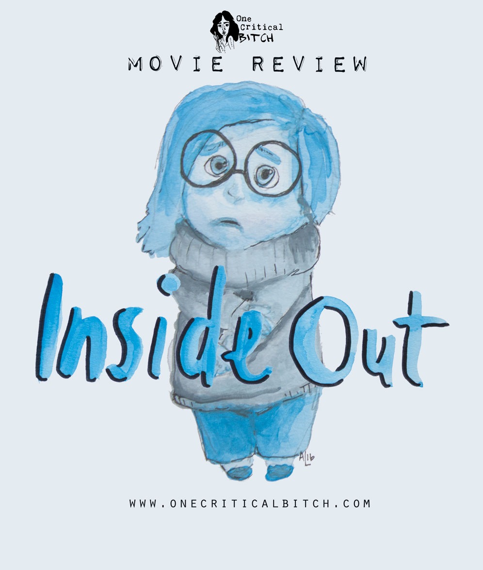 Pixar's Inside Out is a romance for all the emotions | See the full review and join in on #ChickFlickFebruary at onecriticalbitch.com