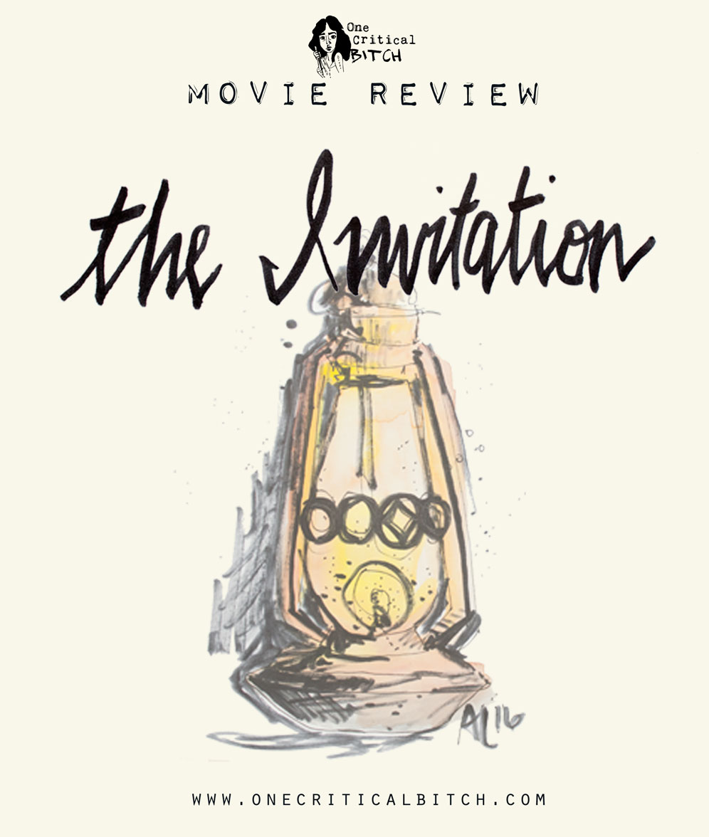 "Quick crit and review of Karyn Kusama's long-awaited horror/thriller ""The Invitation"" 