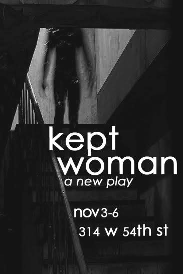 Kept Woman | A New Play by Rebekah Suellau - Read the exclusive interview on onecriticalbitch.com