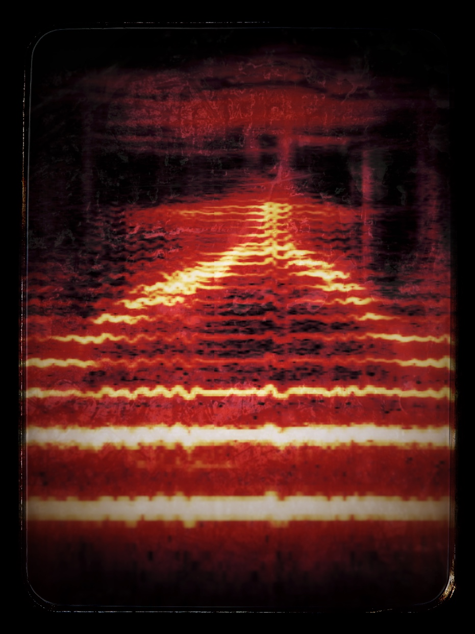 Sunset (REI-IER) - Image made from Mark Martin's Voice and Spectrogram