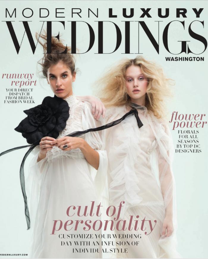 Modern Luxury Weddings magazine cover