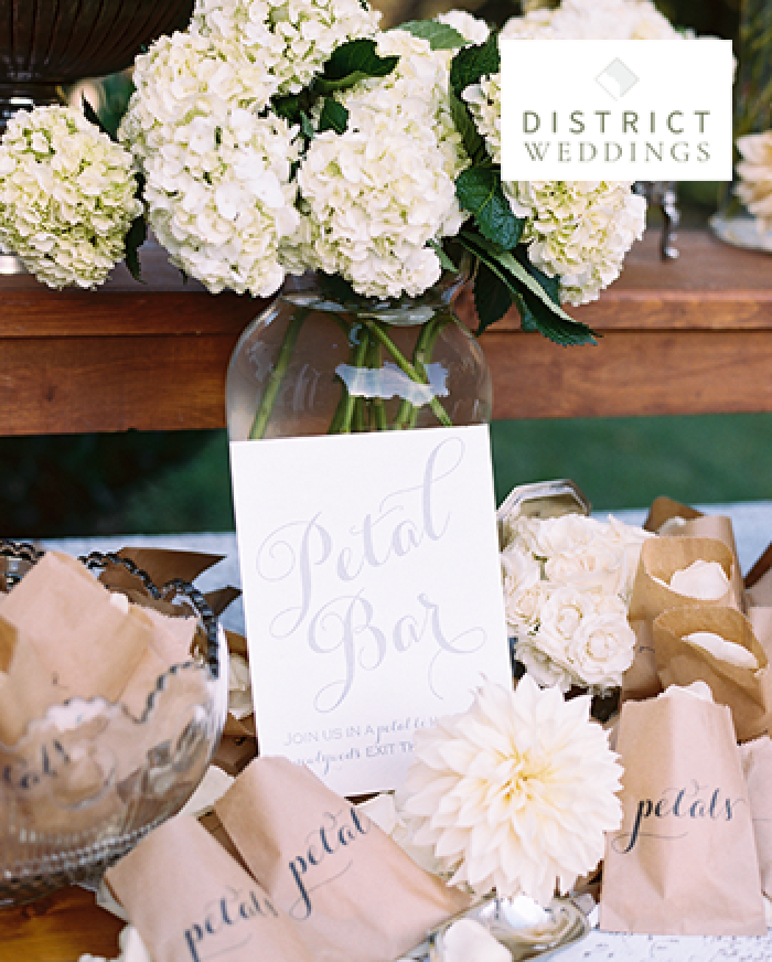 District Weddings magazine cover