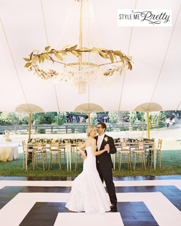 wedding couple dancing - magazine cover