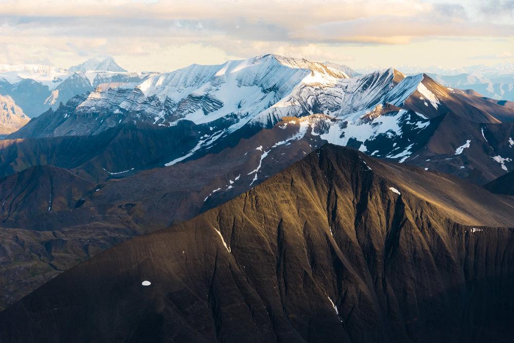 Thirteen Glacier Tour: Snow Covered Ridges