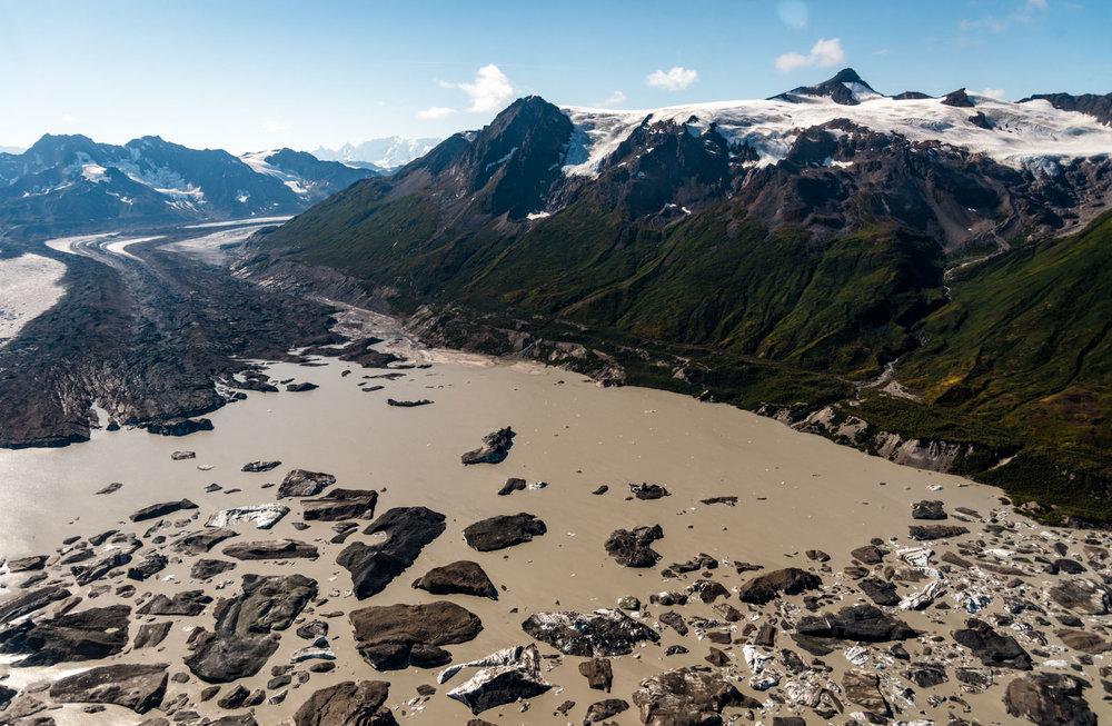 Bagley Icefield - University Range Tour: Iceburgs in Tana Lake