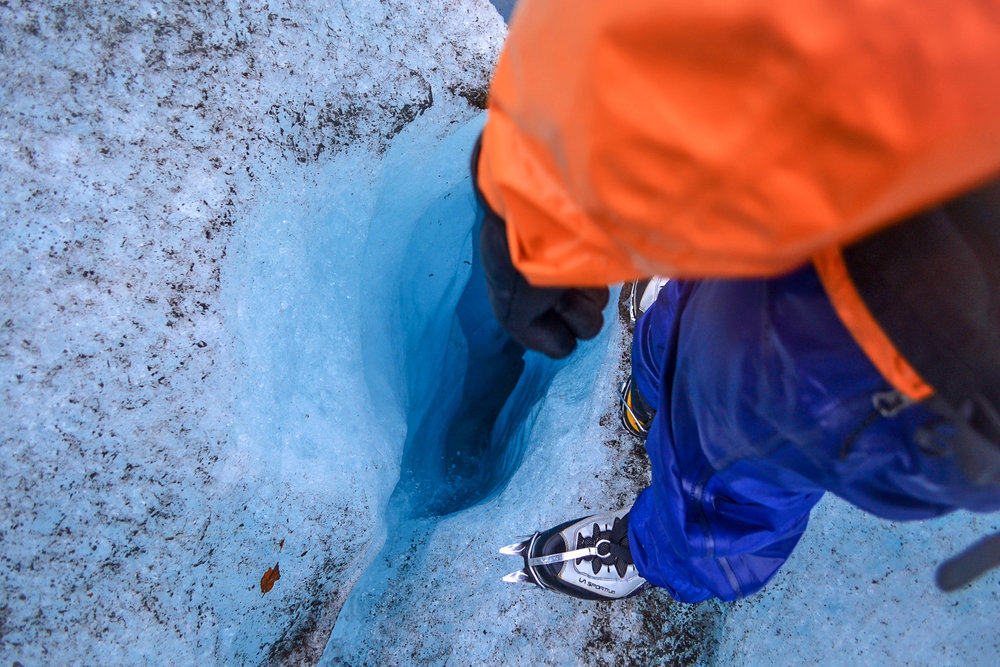 Glacier Adventure Day-Trip:  Moulon and Ice Axe