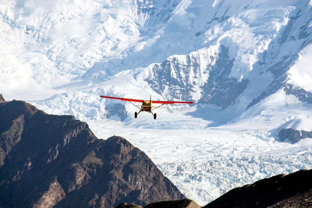 Beaver Takeoff Fosse Wrangell-St Elias National Park