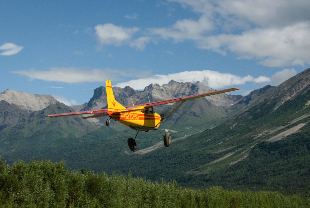Takeoff Backcountry Backpacking Dropoff Wrangell-St Elias