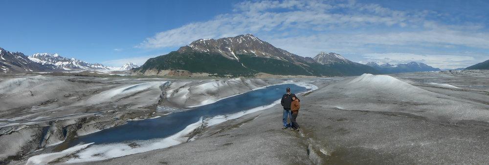 Tana Glacier Hiking Backpacking Backcountry