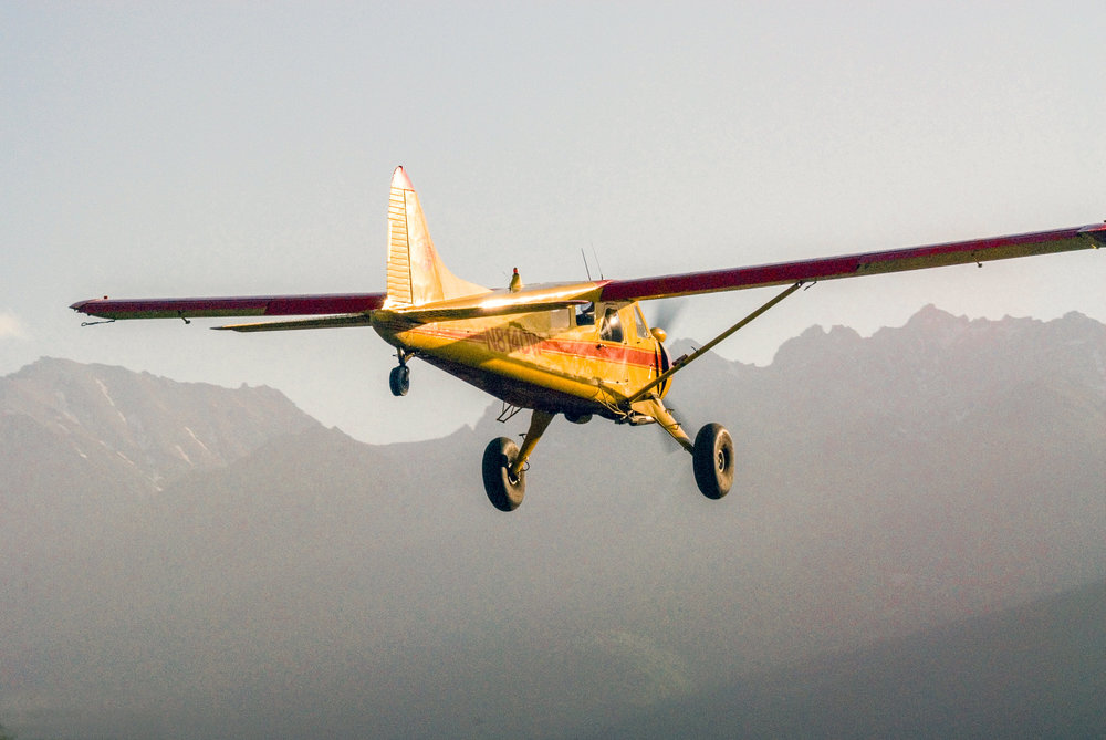 Taking off for backcountry basecampjng adventures
