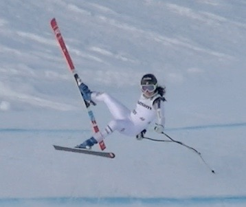 Decided to catch some air in downhill training!