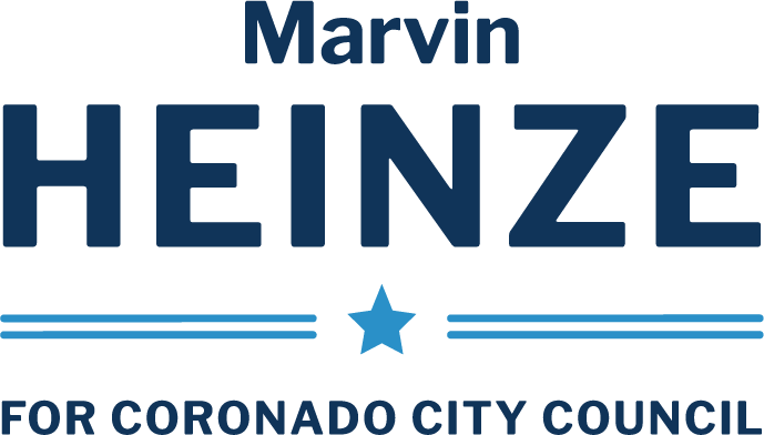 Marvin Heinze for Coronado City Council