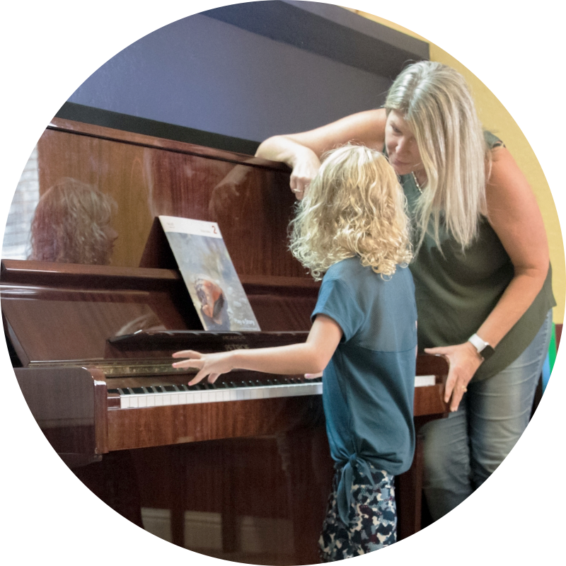 Piano: ages 4-6