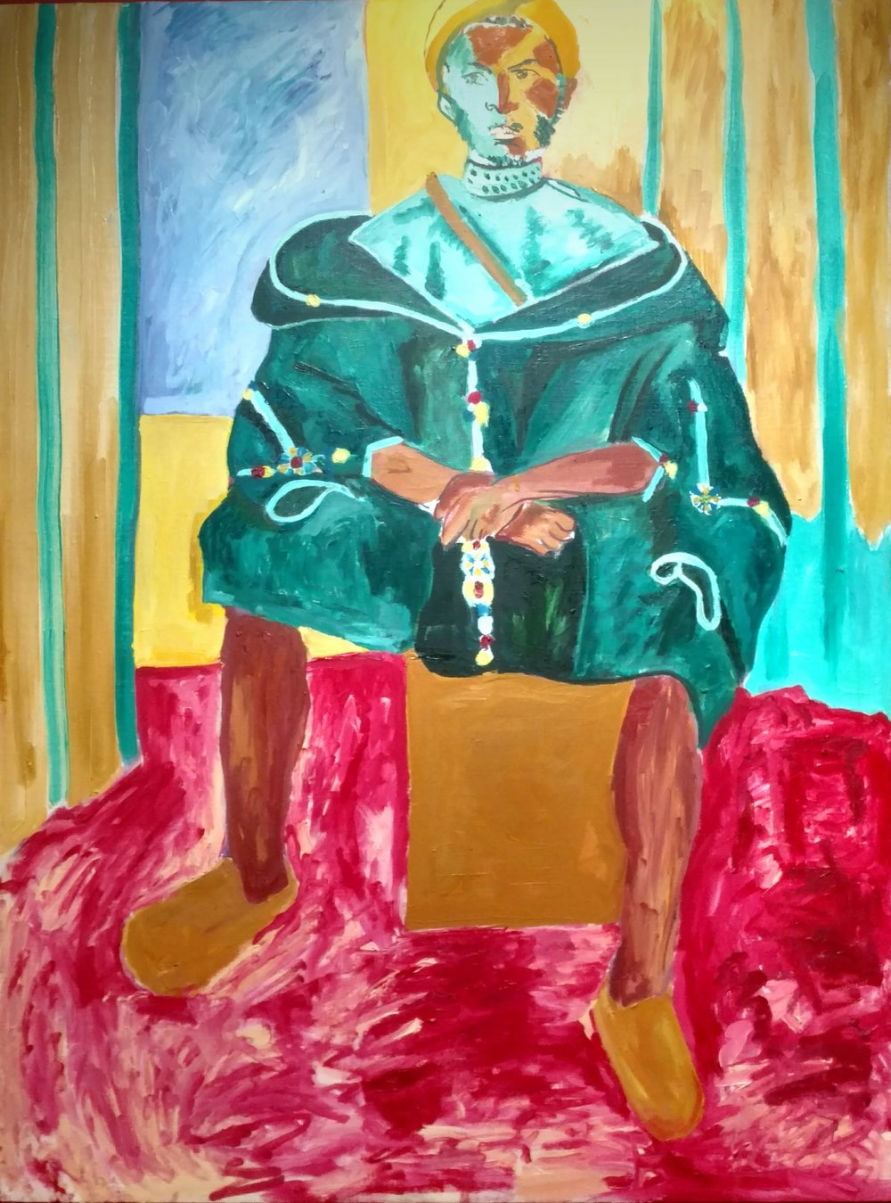 Seated Riffian (Matisse)
