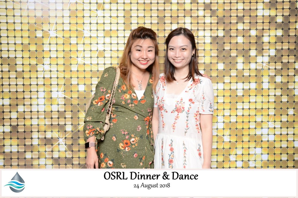 Photobooth for OSLR Dinner & Dance 24 August 2018