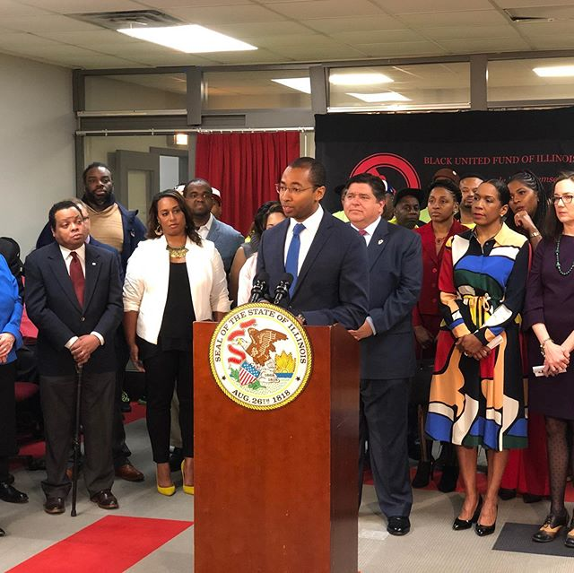 No filter necessary: today, Gov. J.B Pritzker unveiled our proposal for the most equity-centric cannabis legalization law in the country. This represents countless hours of work by dozens of stakeholders: a special shout-out to the sponsors, the black and Latino caucuses, and our incredibly hardworking drafting team. Onward!