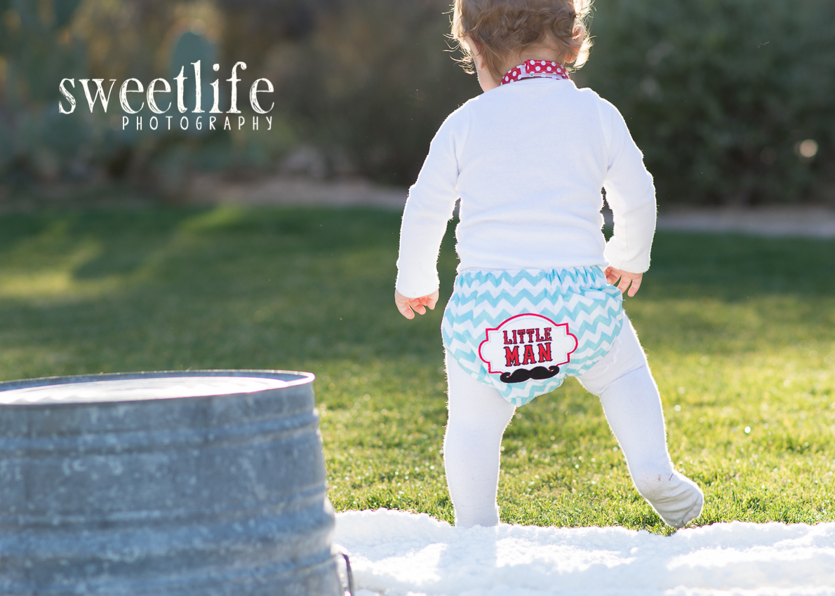 Scottsdale AZ Cake Smash Photographer -- SweetLife Photography