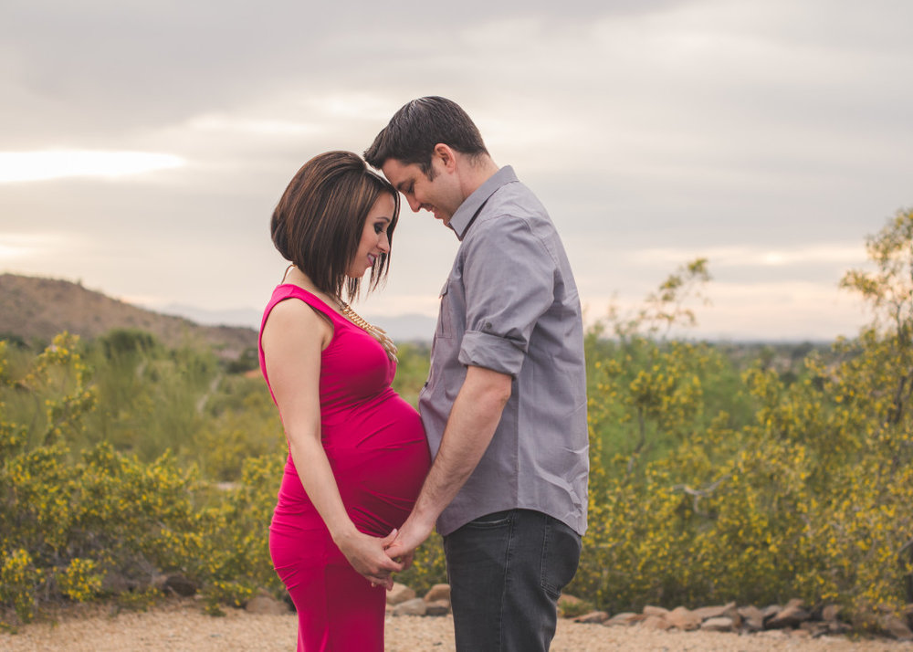 North Phoenix Desert Maternity Photographer | SweetLife Photography