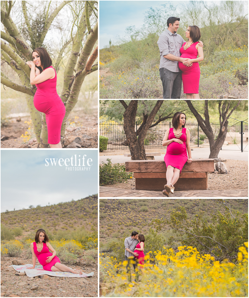 North Phoenix Desert Maternity Photographer :: SweetLife Photography