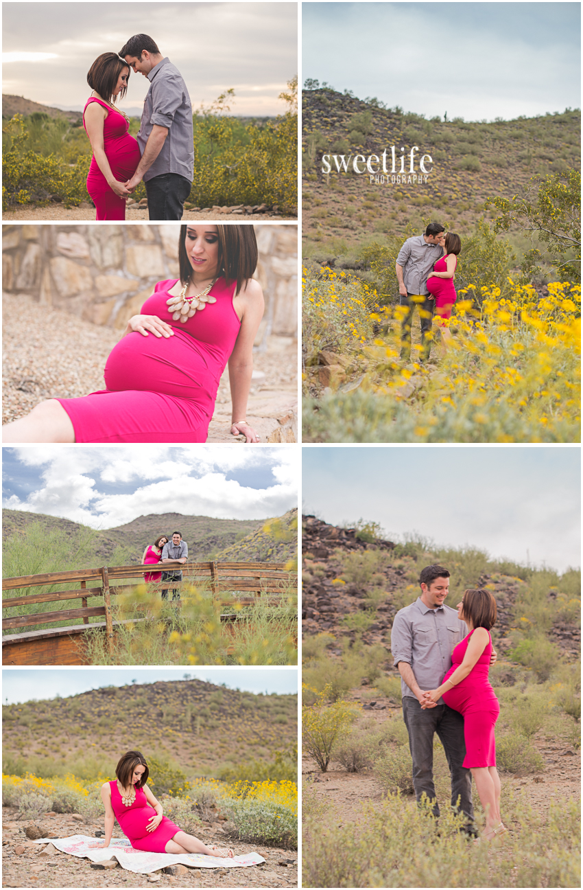 Phoenix Desert Maternity Session :: SweetLife Photography