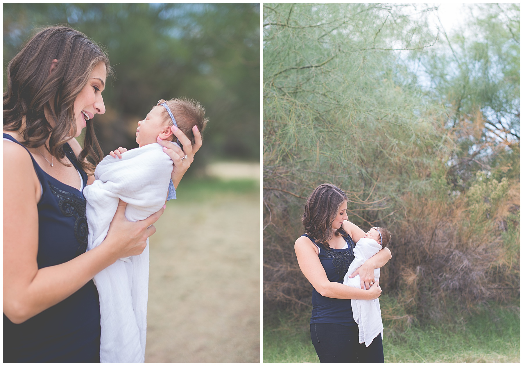Phoenix Outdoor Lifestyle Newborn session | Sweetlife Photography