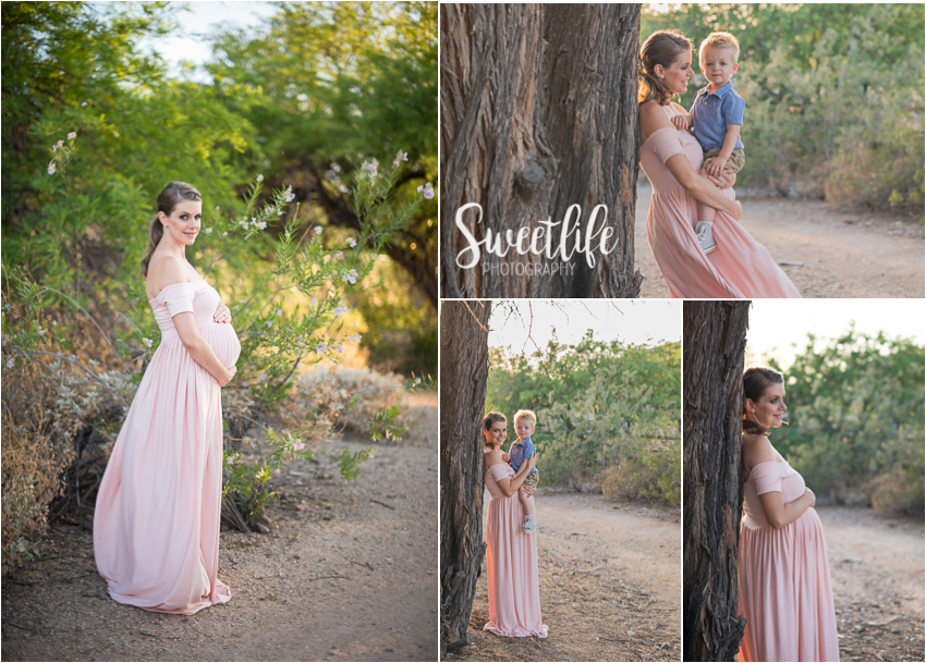 Arizona desert maternity session | Sweetlife Photography