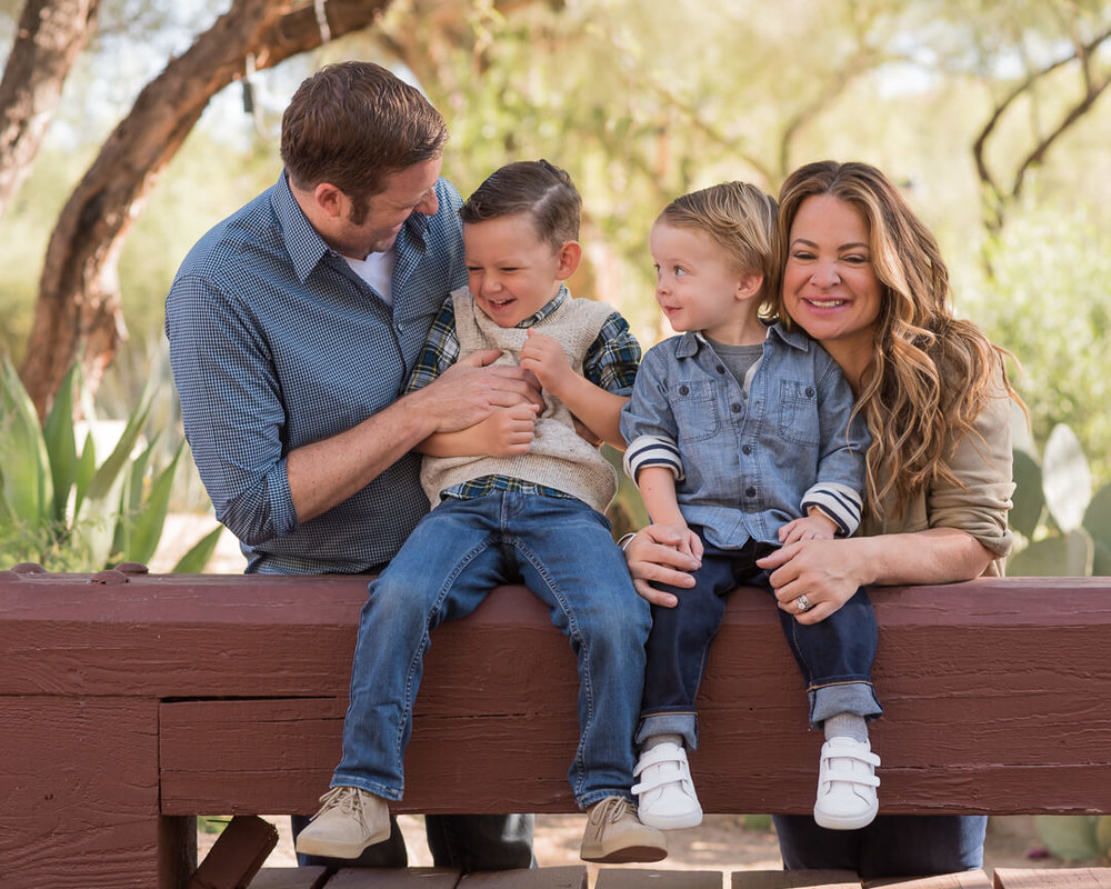 scottsdale family portrait photographer | SweetLife Photography