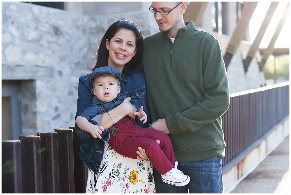 Family of three portrait Scottsdale, AZ | SweetLife Photography