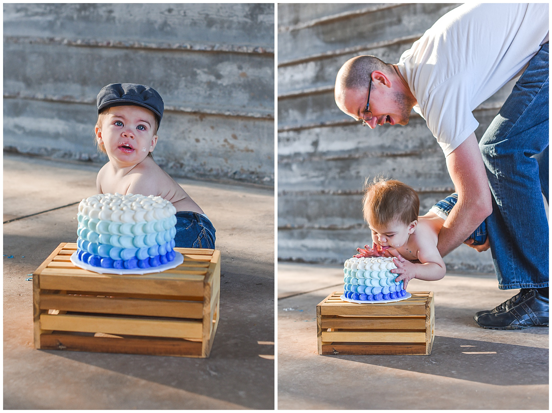 Baby's First Cake Smash session | SweetLife Photography