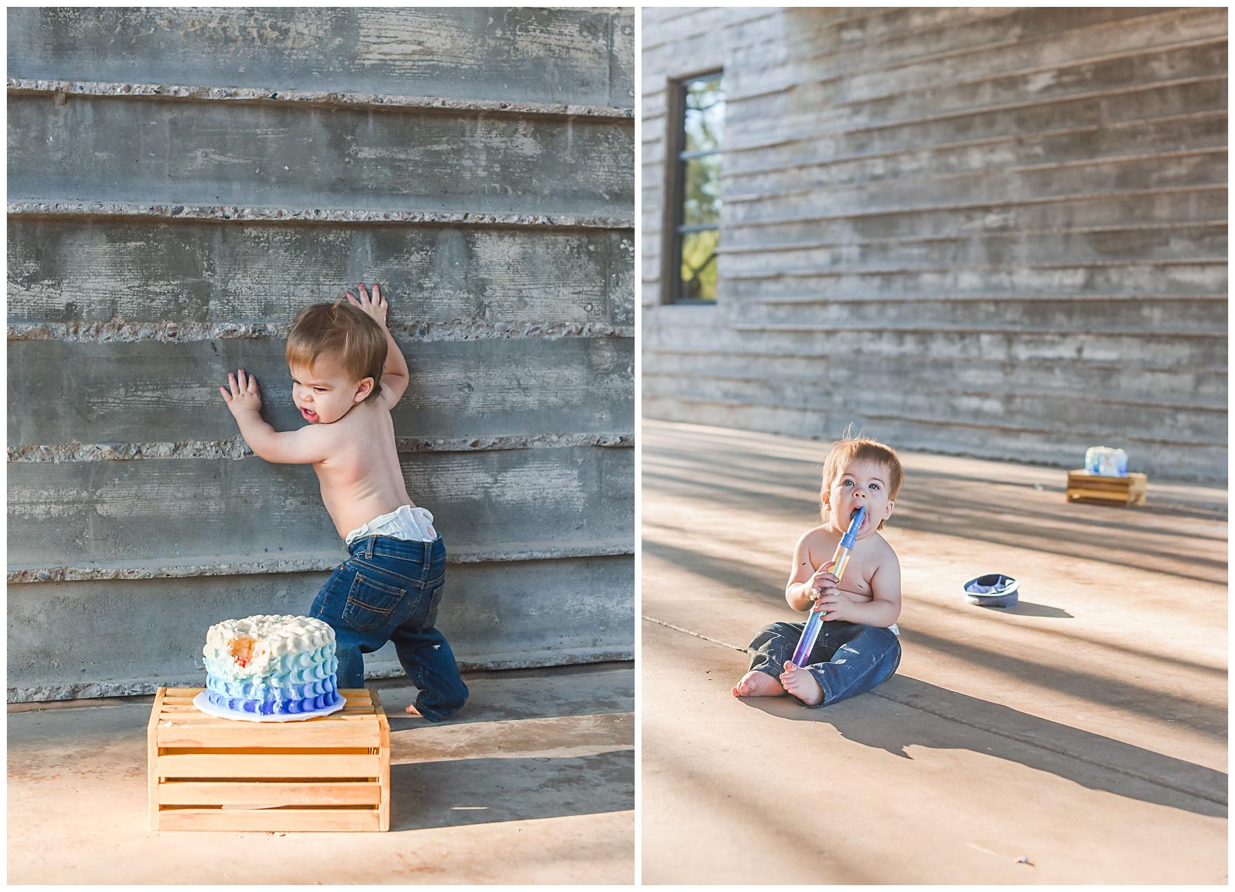 Smash Cake Photographer in Scottsdale | Sweetlife Photography