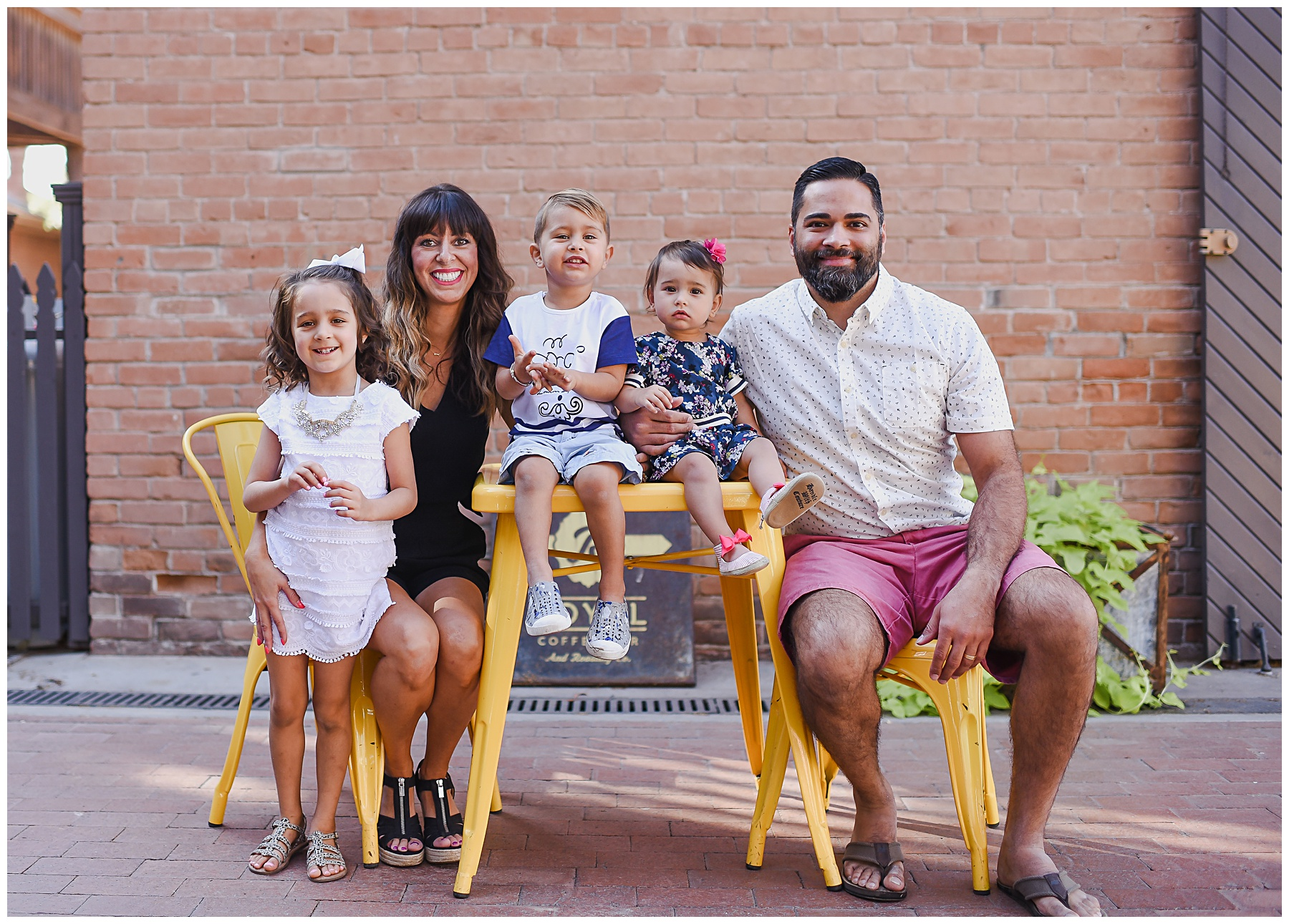 Urban family portrait session in Phoenix AZ | SweetLife Photography