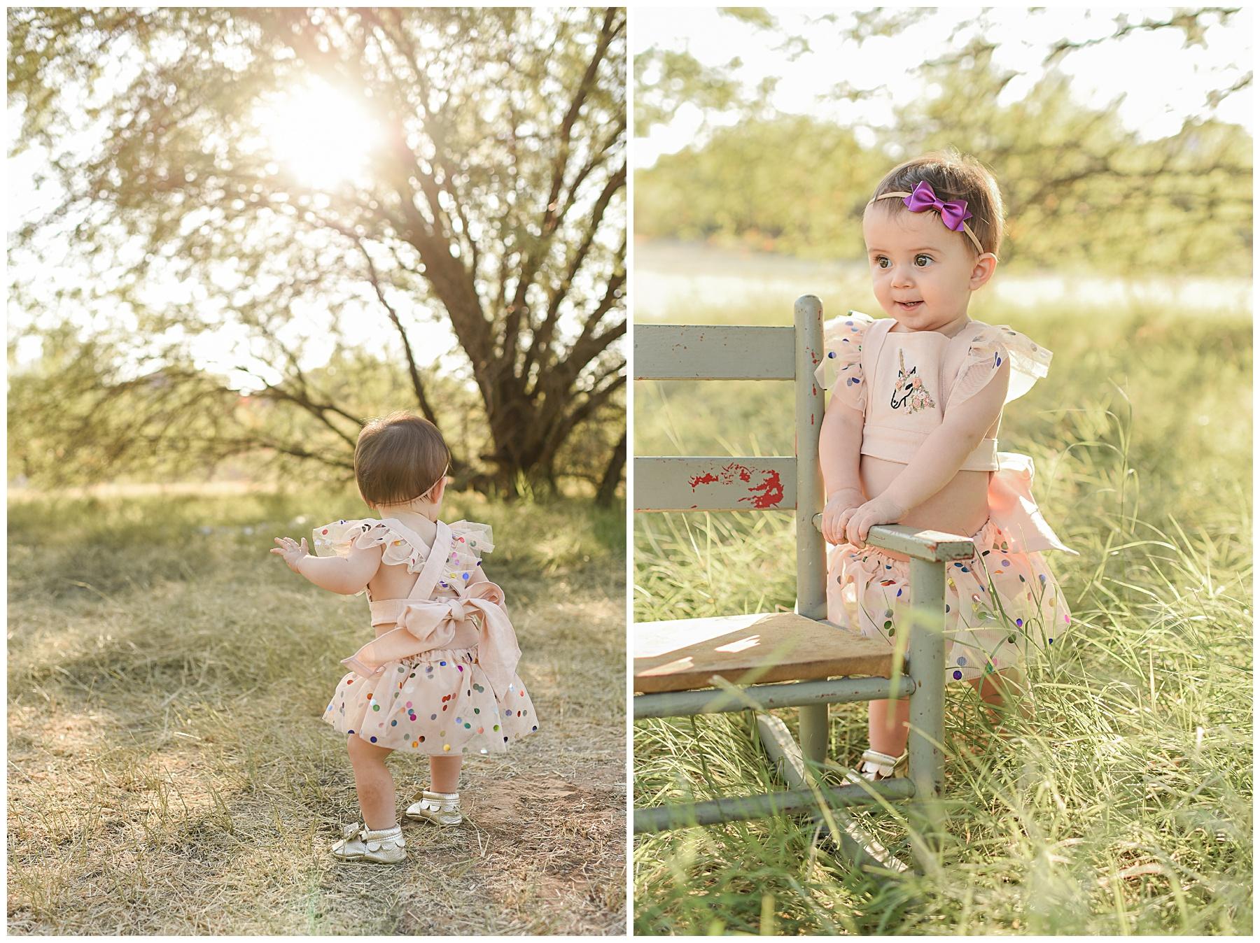 Phoenix Vintage Cake Smash Photographer | SweetLife Photography