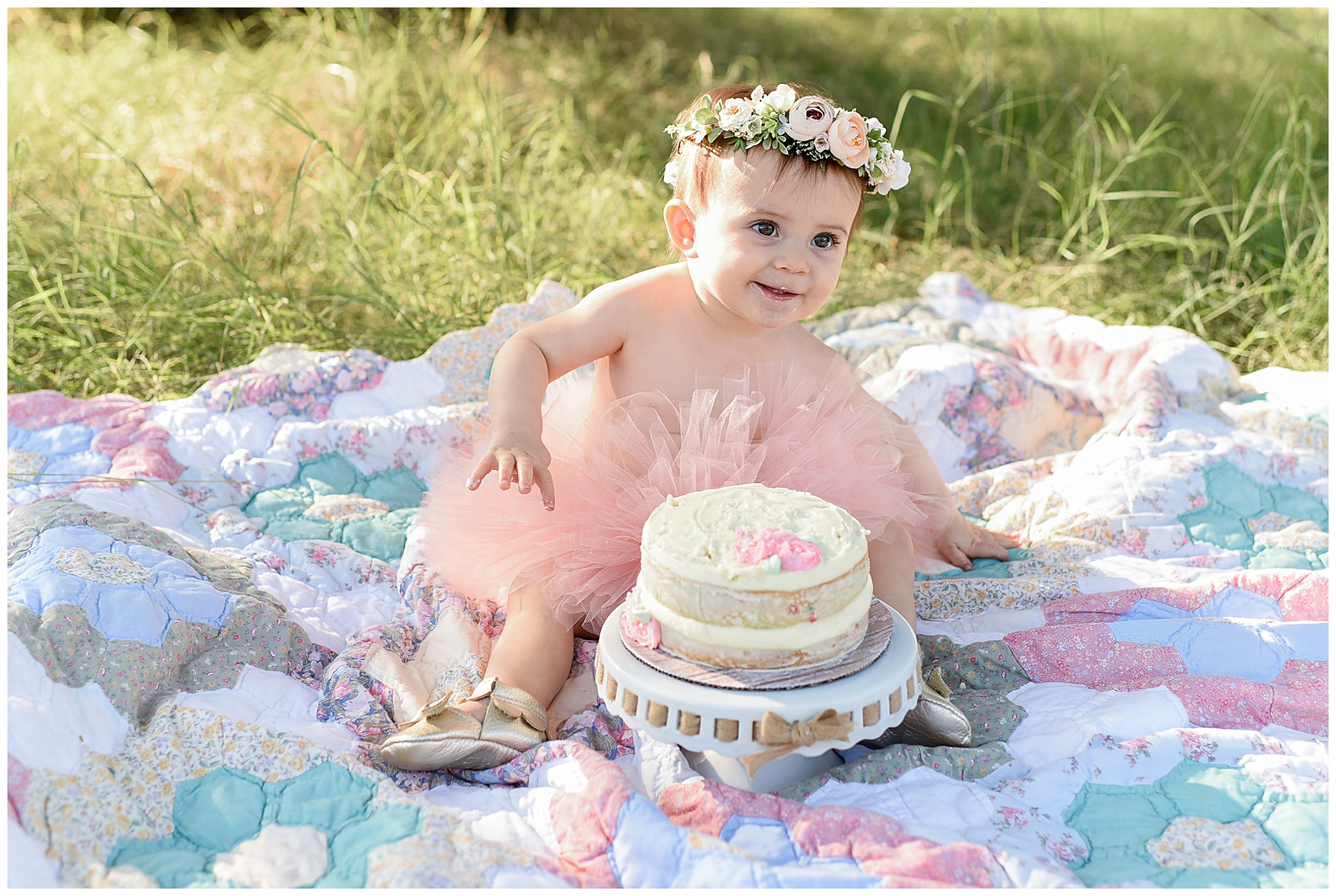 Phoenix Cake Smash Photographer | SweetLife Photography
