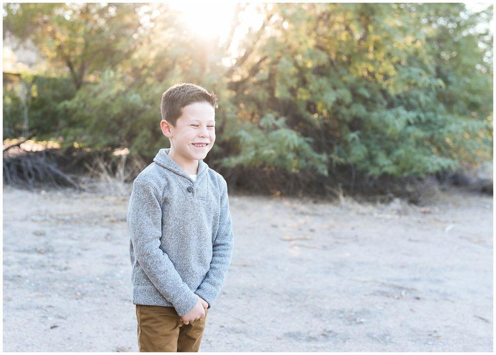 Big brother cheesy smile | Phoenix Lifestyle Family Portraits