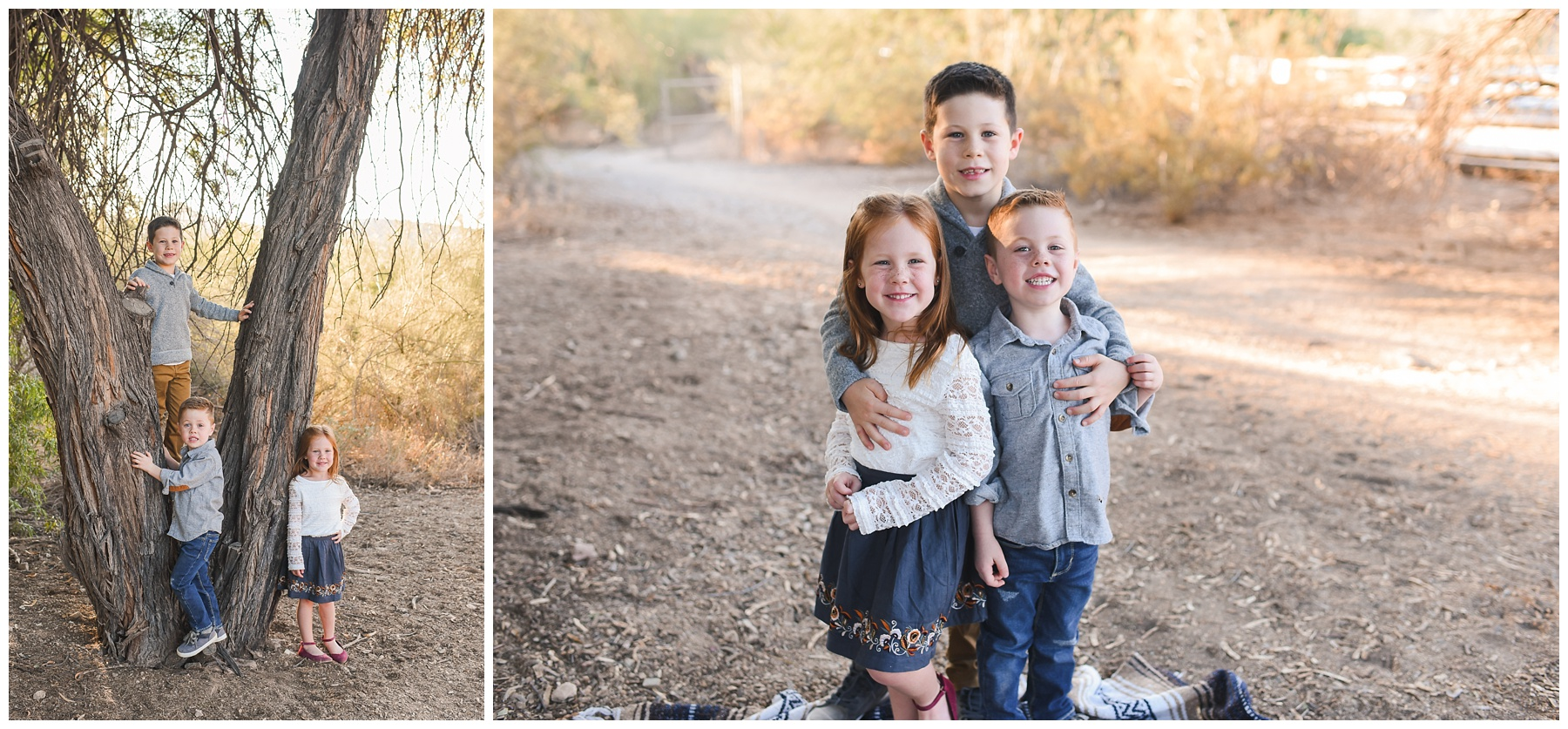 Sibling shot | Phoenix Lifestyle Family Portraits