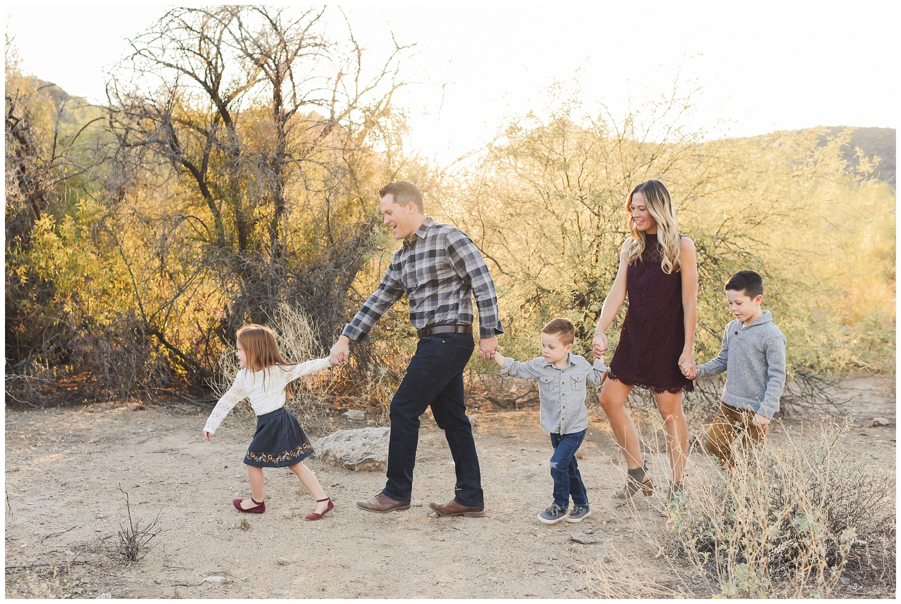 Follow the Leader Family shot | Phoenix Lifestyle Family Portraits