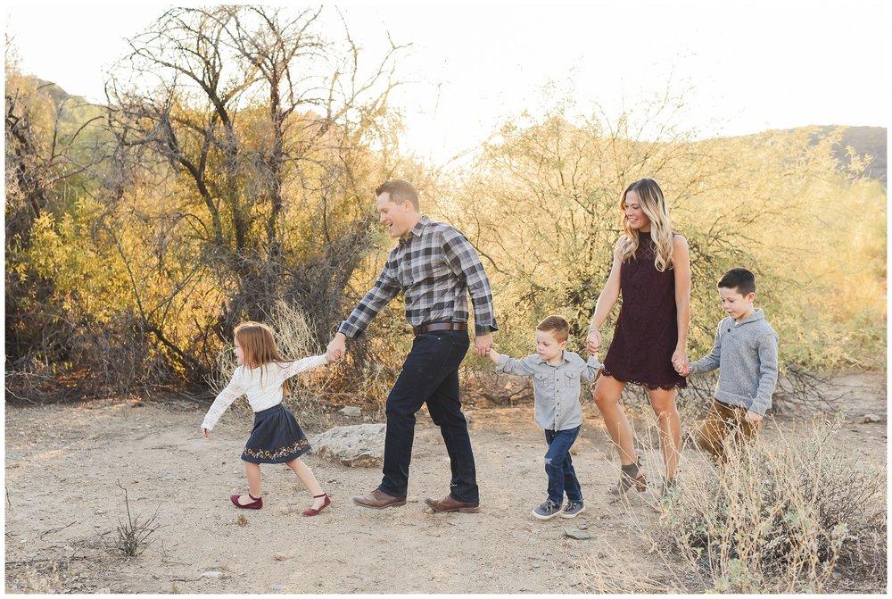 Follow the Leader Family shot | Phoenix Lifestyle Family Portraits