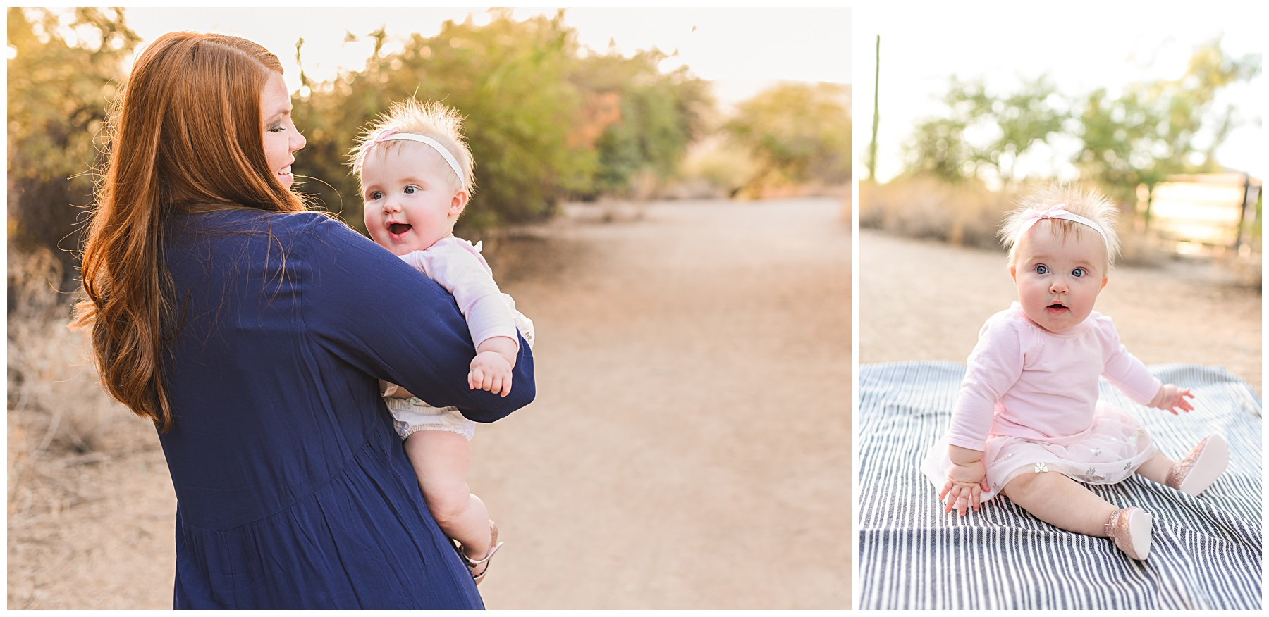 Mother Daughter Image in the Desert | SweetLife Photography