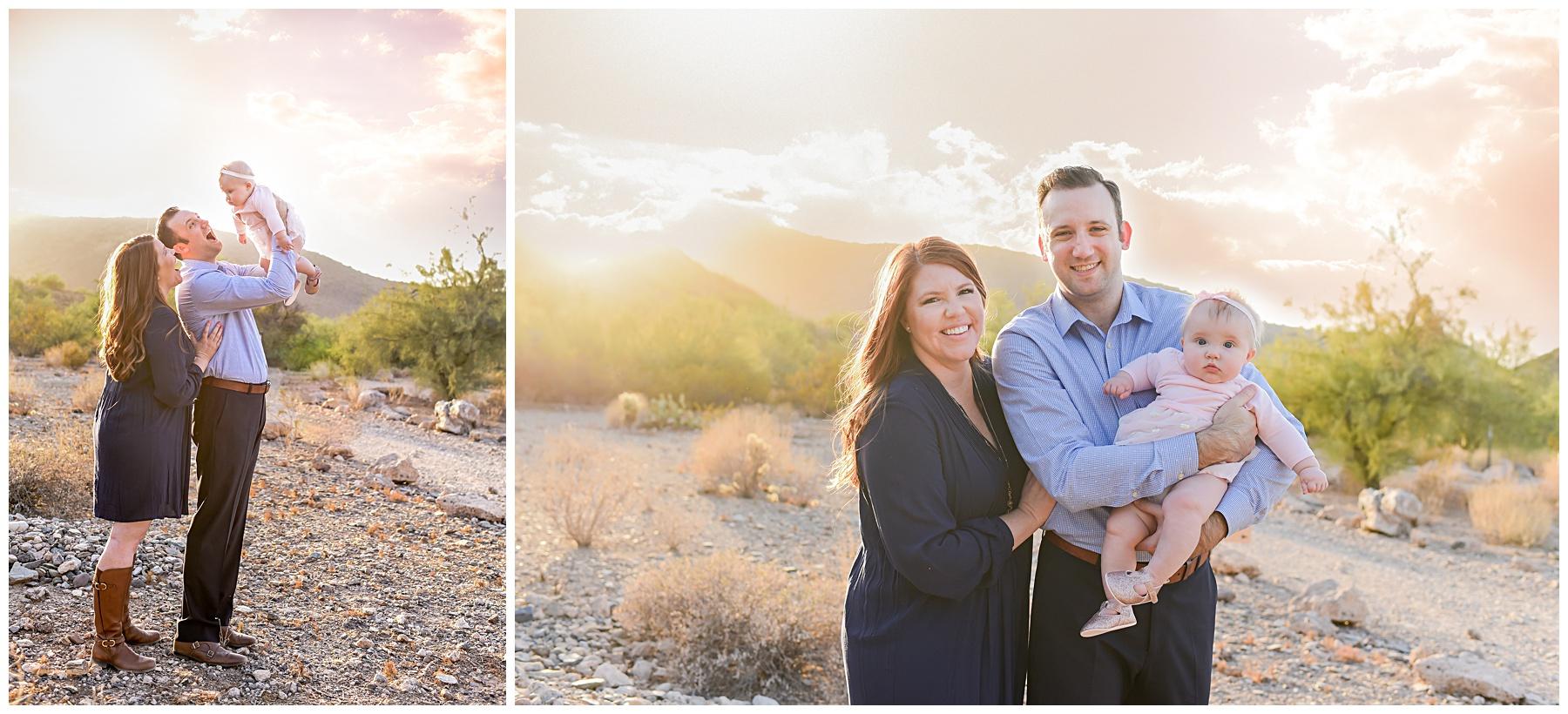 AZ Desert glow family | SweetLife Photography
