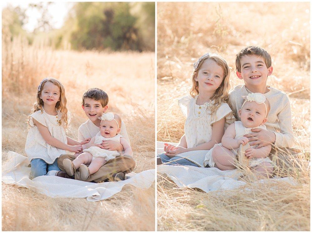 Phoenix Golden Hour Child Portraits