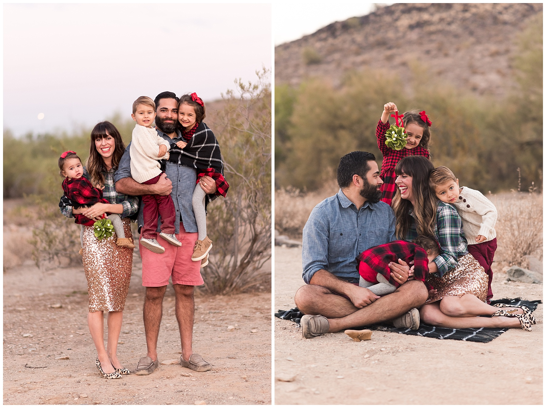 Fall Desert Family Photo session with SweetLife Photography