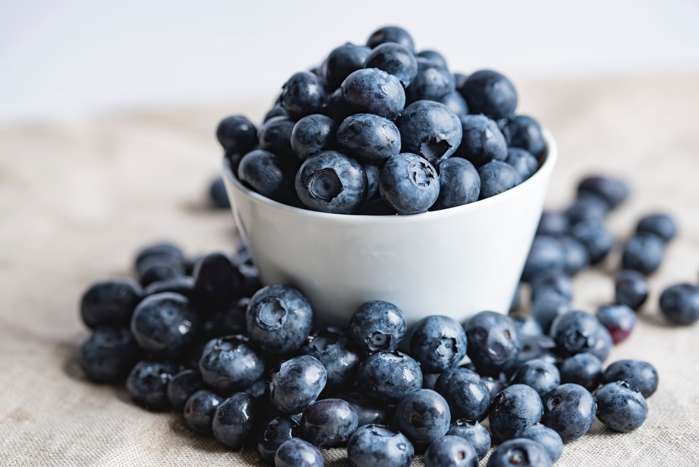 Blueberries - These berries have insane amounts of antioxidants which neutralize free radicals and decrease oxidative stress. They also have a few different phytochemicals, which help with anti-inflammatory, decrease cell vulnerability and increase cell wall strength. Basically they keep your body strong and resilient to sickness and breakdown!