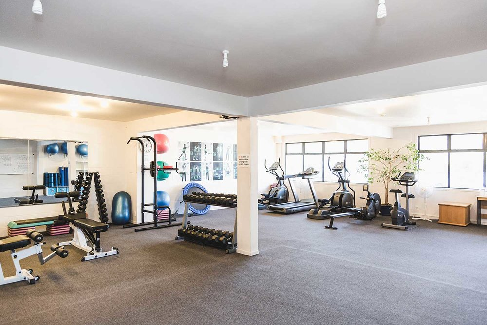 GYM FACILITIES -